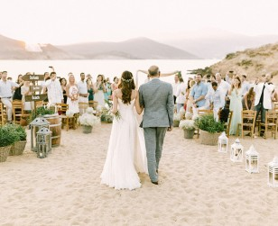 Alemagou Beach Mykonos Wedding